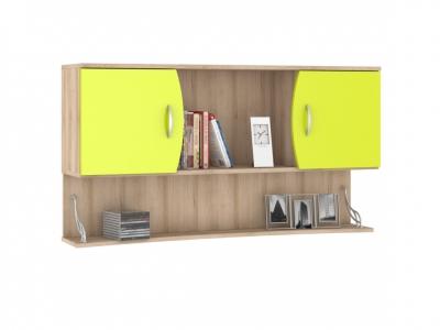 Шкаф навесной Ника 415 1230х278х665 Лайм Зеленый