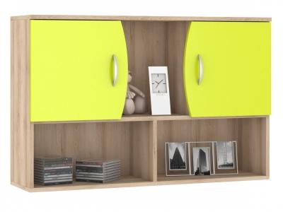 Шкаф навесной Ника 416 М 1024х278х665 Лайм Зеленый