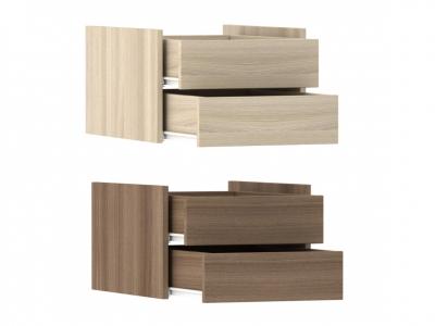 Модуль с ящиками для шкафа-купе шимо